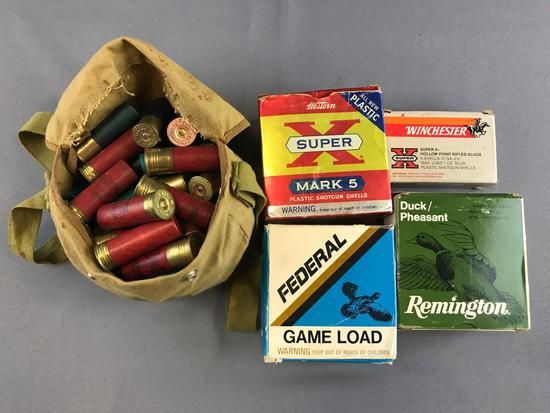 Group of Shotgun Shells and more