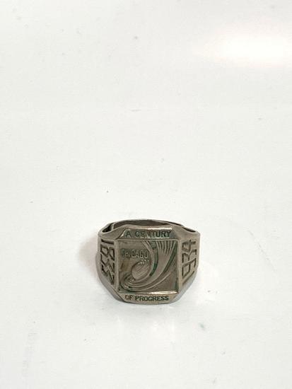 1933?34 Chicago worlds fair souvenir ring