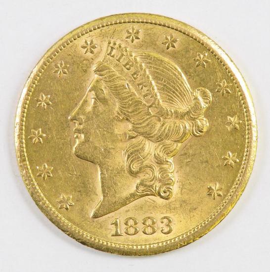 1883 CC $20.00 Liberty Gold.