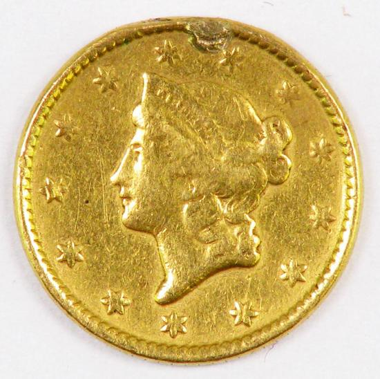 1851 $1.00 Liberty Gold.