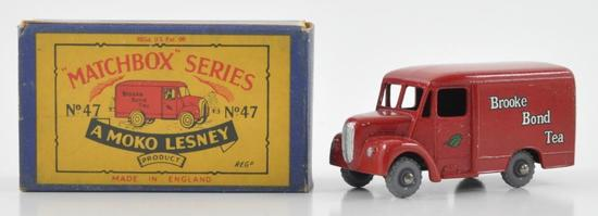 Matchbox No. 47 1 Ton Trojan Van Die-Cast Van with Original Box