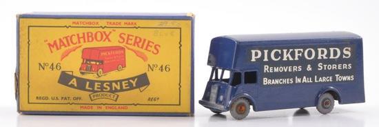 Matchbox No. 46 Pickford's Removal Van Die-Cast Vehicle with Original Box