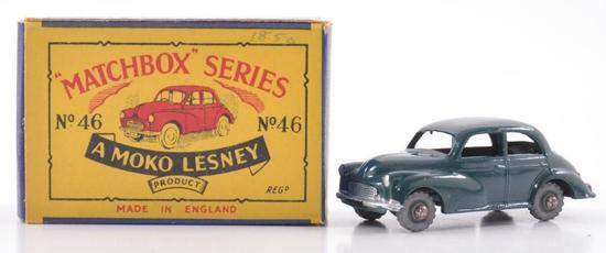 Matchbox No. 46 Morris Minor 100 Die-Cast Car with Original Box