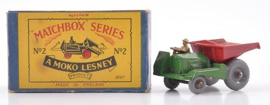 Matchbox No. 2 Site Dumper Die-Cast Vehicle with Original Box