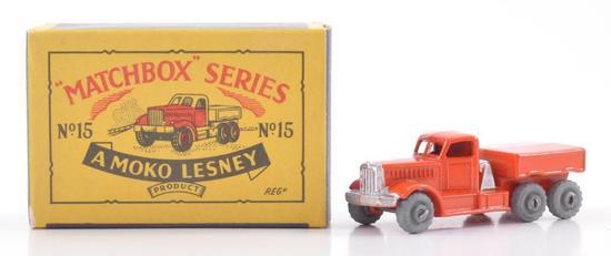 Matchbox No. 15 Prime Mover Die-Cast Truck with Original Box