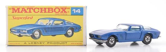 Matchbox Superfast No. 14 ISO Grifo Die-Cast Car with Original Box