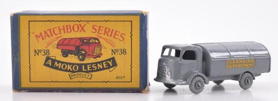 Matchbox No. 38 Karrier Refuse Collector Die-Case Truck with Original Box