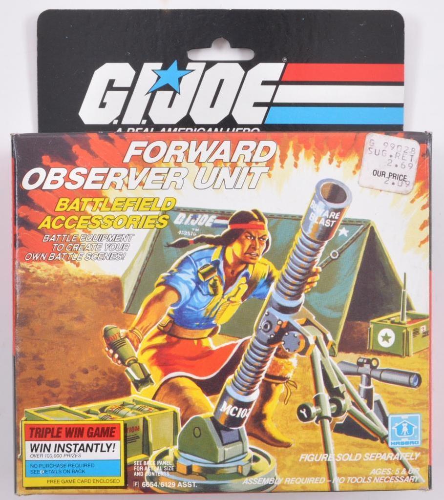 GI Joe 1985 FORWARD OBSERVER UNIT Radio