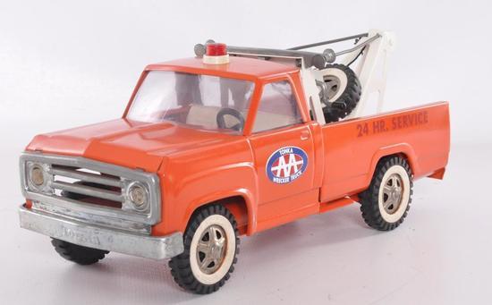 Tonka Toys Pressed Steel AA 24hr Service Wrecker Truck