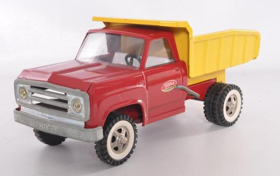 Tonka Toys Pressed Steel Dump Truck