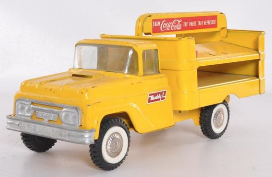 Buddy L Coca Cola Pressed Steel Delivery Truck
