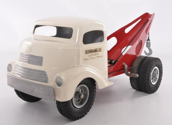 "Smith Miller ""Smitty Toys"" Pressed Steel Wrecker/Tow Truck"