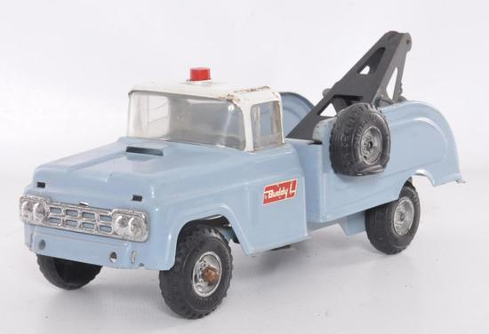 Buddy L Pressed Steel Wrecker/Tow Truck