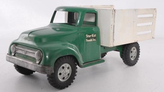 Tonka Toys Star-Kist Foods Inc. Advertising Pressed Steel Delivery Truck