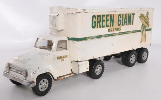 Tonka Toys Green Giant Brands Advertising Pressed Steel Refrigerator Truck