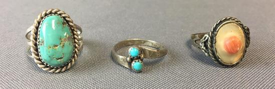 Group of 2 Sterling Silver Rings and more