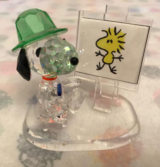 Crystal World Peanuts Painting Snoopy