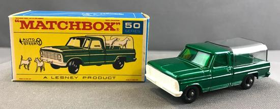 Matchbox Auto Steer No. 50 Kennel Truck die cast vehicle with Original Box