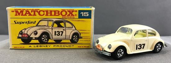 Matchbox Superfast No. 15 Volkswagen 1500 Saloon