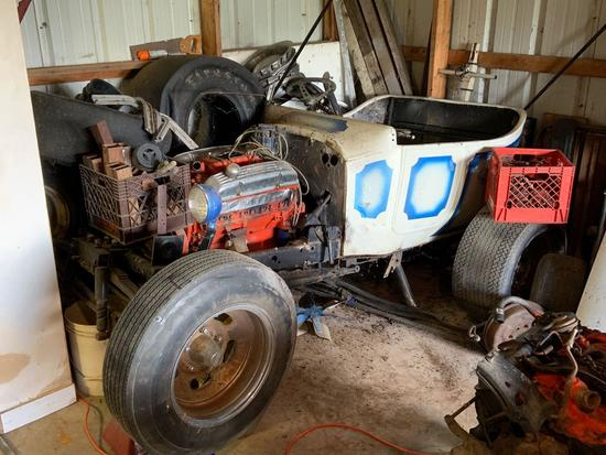 Hot Rod with 1923 Ford Model T Steel Body and 305 Chevy Engine