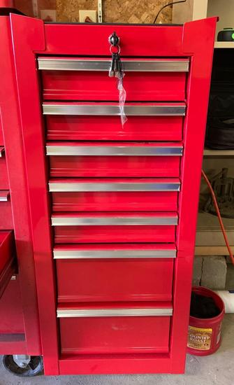 Harbor freight side hanging toolbox