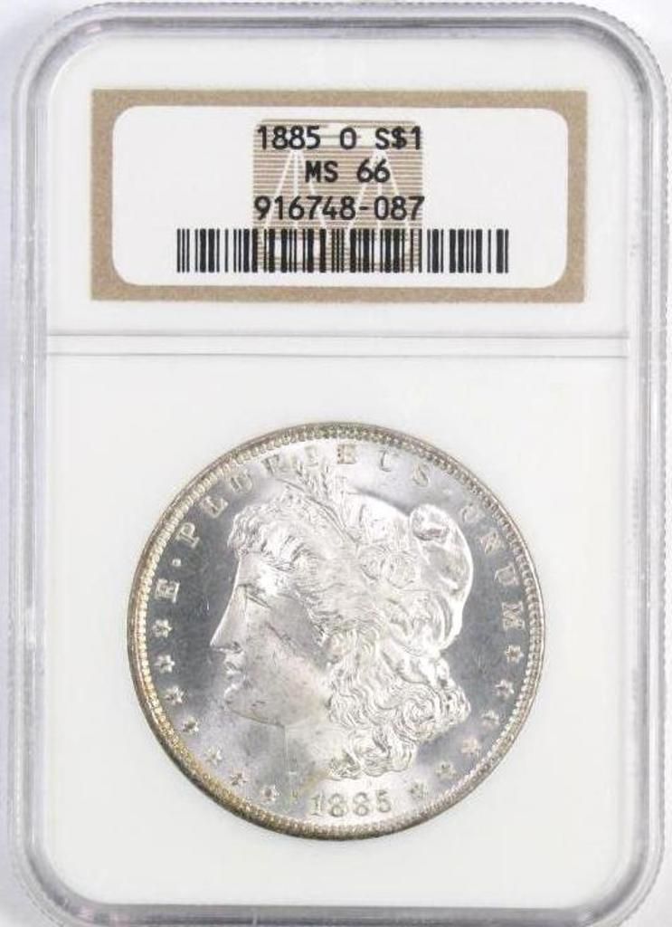 ONLINE ONLY - Numismatic Coin Auction