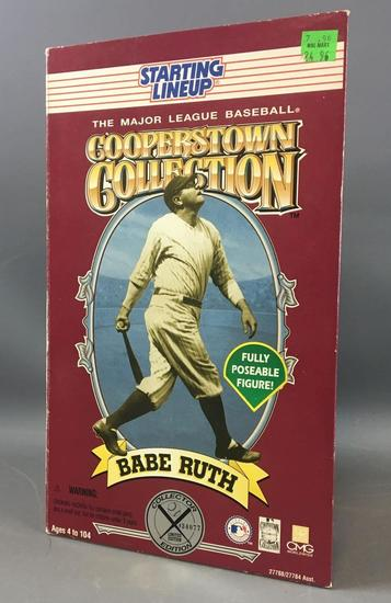 Babe Ruth Starting Lineup fully poseable Figurine