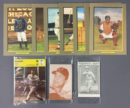 Group of Sports Exhibit Cards