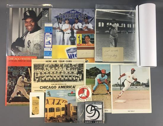 Chicago White Sox Autographs and more