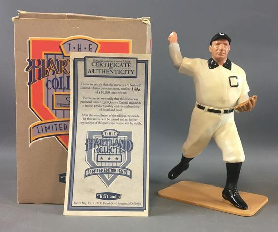 Cy Young Limited Edition Numbered Hartland Statue with original box