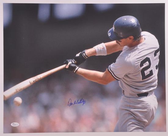 New York Yankee Don Mattingly Signed Photograph with JSA COA