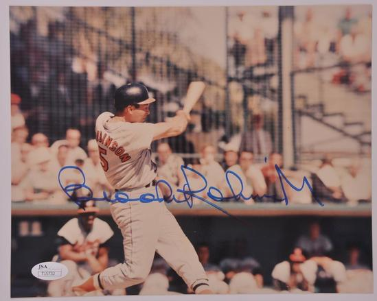 Baltimore Orioles Brooks Robinson Signed Photograph with JSA COA