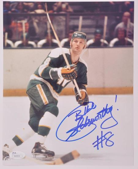 Bill Goldsworthy Signed Photograph with JSA COA