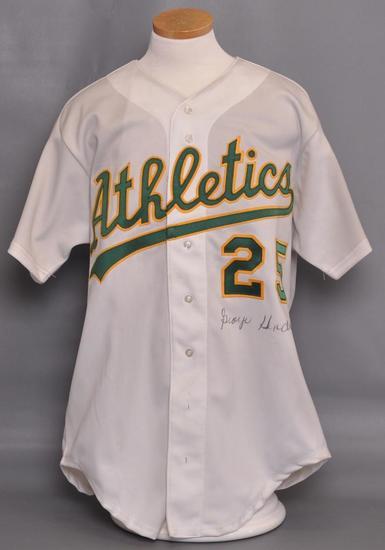 Oakland Athletics George Hendrick Signed Jersey