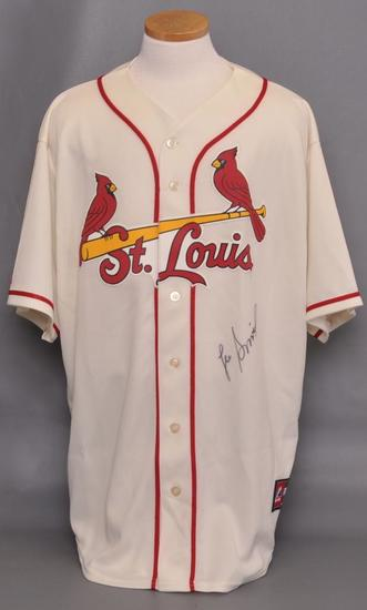 St. Louis Cardinals Lee Smith Signed Jersey with JSA COA