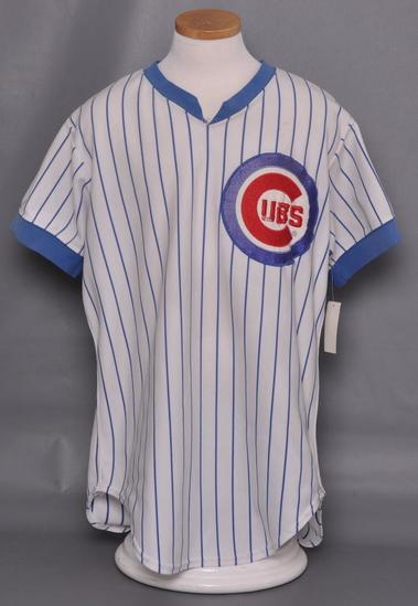 1983 Chicago Cubs Craig Lefferts Game Used Jersey
