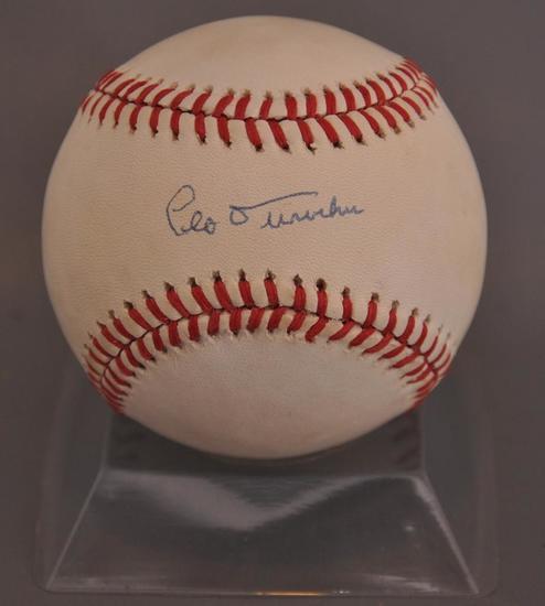 Brooklyn Dodgers Leo Durocher Signed Baseball with JSA LOA