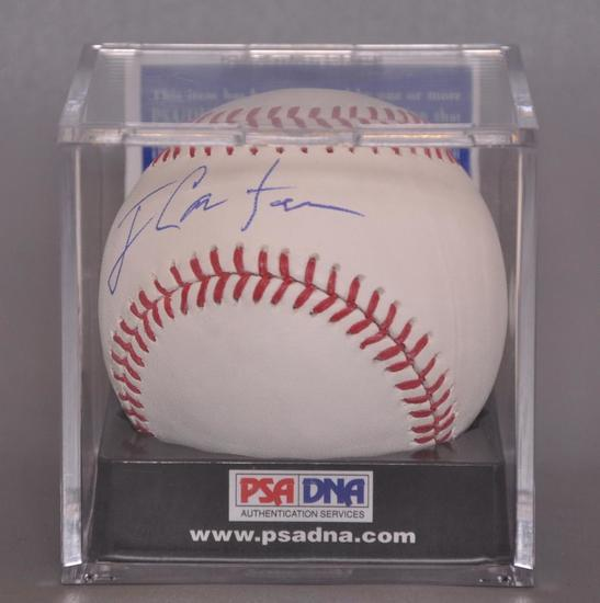 US President Jimmy Carter Signed Baseball with PSA DNA COA