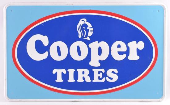Cooper Tires Advertising Metal Sign