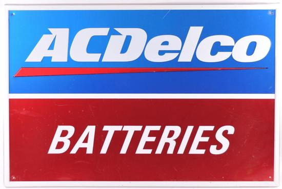 ACDelco Batteries Advertising Metal Sign