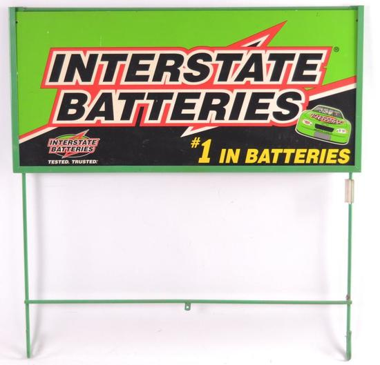 Interstate Batteries Double Sided End Cap Sign