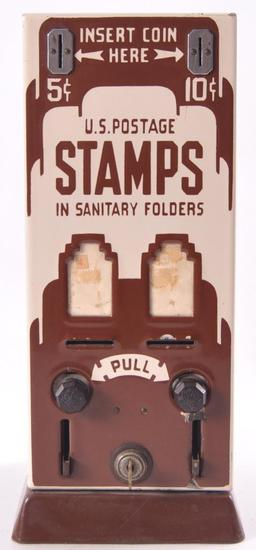 Vintage 5 Cent U.S. Postage Stamp Dispenser