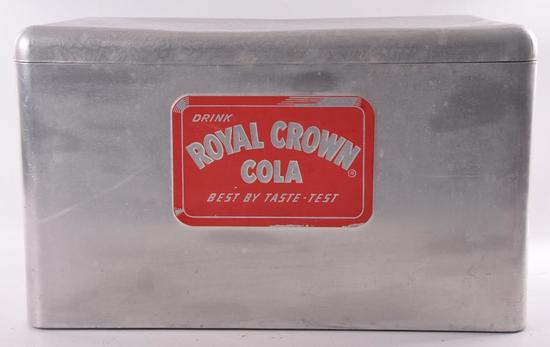 Vintage Royal Crown Cola Advertising Metal Cooler
