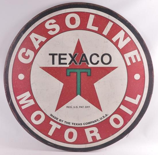 Modern Texaco Advertising Metal Sign