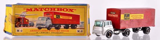 Matchbox Major Pack M-2 Articulated Freight Truck Die-Cast Vehicle with Original Box