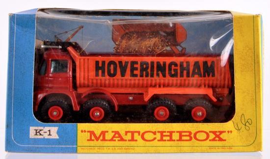 Matchbox King Size K-1 Foden Tipper Truck Die-Cast Vehicle with Original Box