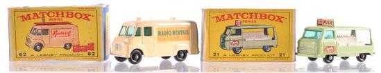 Matchbox No. 75 Thunderbird Die-Cast Vehicle with Original Box