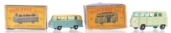 Group of 2 Matchbox Die-Cast Vehicles with Original Boxes