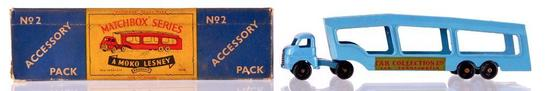 Matchbox Accessory Pack No. 2 Car Transporter Die-Cast Vehicle with Original Box