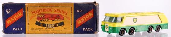 Matchbox Major Pack M-1 B.P. Petrol Tanker Die-Cast Vehicle with Original Box